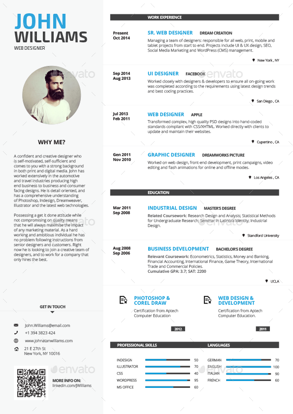 clean resume vol 1 by paolo6180