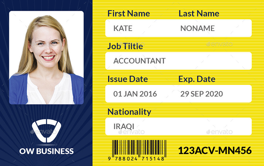 Multipurpose Business Id Card Template Vol.2 By Owpictures