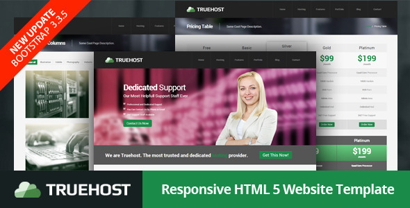 Truehost - Responsive HTML5 Hosting Template