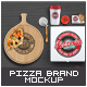 Pizzeria Branding Identity Mock-up