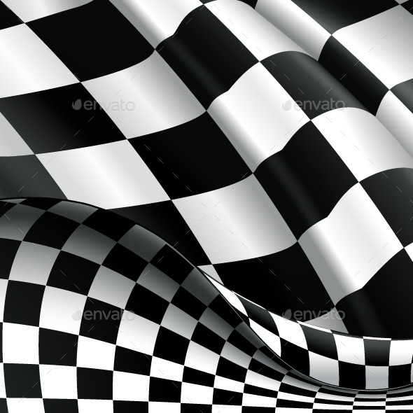 Checkered Background - Vectors