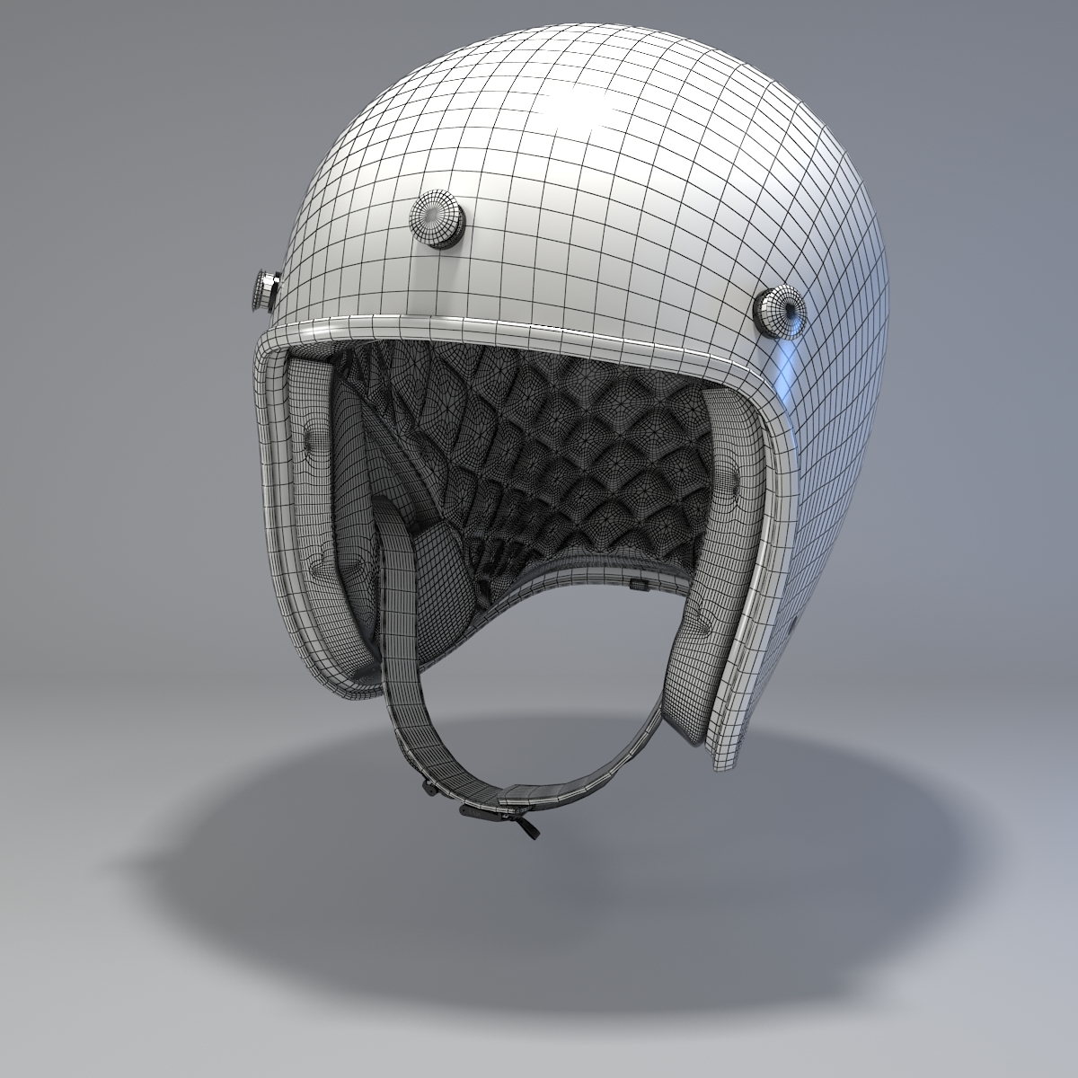 Motorcycle Helmet 3d Model Free