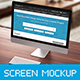 iMac Mockup - GraphicRiver Item for Sale