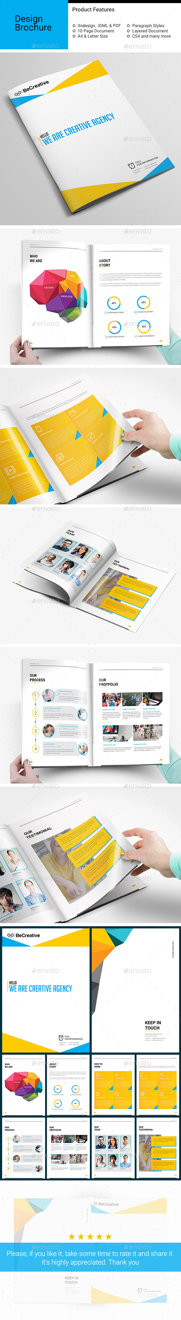 Corporate Brochure-V06 - Brochures Print Templates