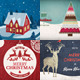 Christmas Backgrounds/Cards Collection - GraphicRiver Item for Sale