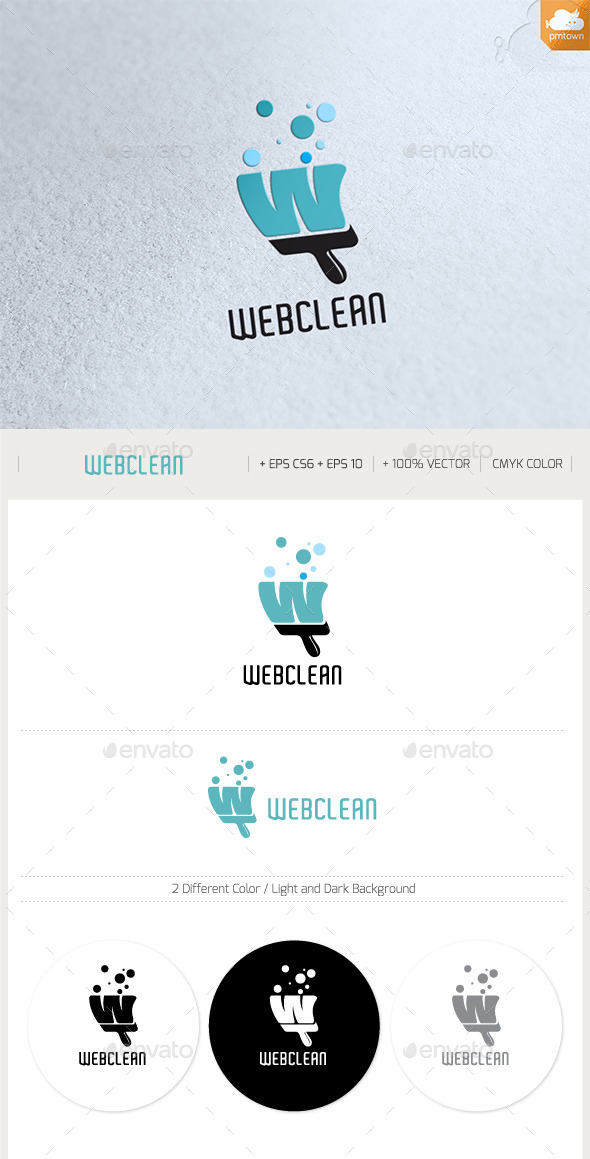 Web Clean - Objects Logo Templates
