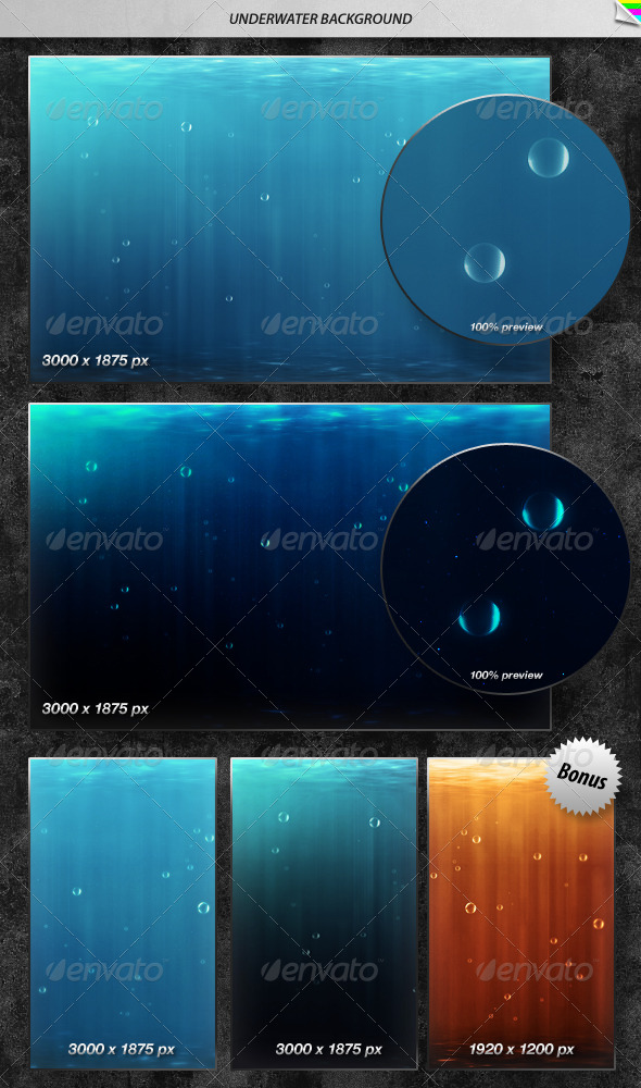 Underwater Background - Nature Backgrounds