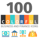 Business and FIinance Colorful Icons - GraphicRiver Item for Sale