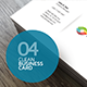 4 Clean Business Cards - GraphicRiver Item for Sale