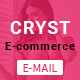 Cryst E-commerce Newsletter - GraphicRiver Item for Sale