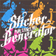 Pure Stencil Art Actions V4 (Sticker Generator) - GraphicRiver Item for Sale