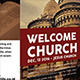 Welcome Church Trifold Brochures - GraphicRiver Item for Sale