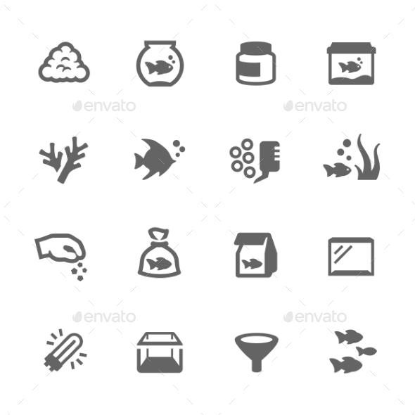 Aquarium Icons - Icons