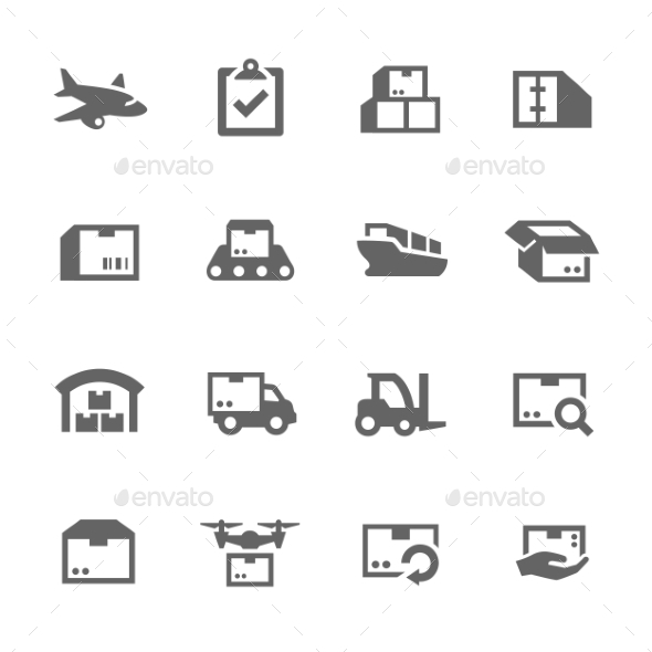 Cargo Icons - Business Icons