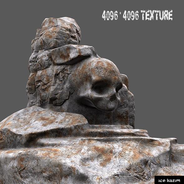 skull mountain - 3DOcean Item for Sale