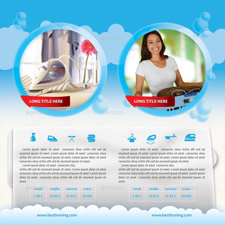 Ironing and laundry services offer bifold brochure by 21min ironing and laundry services offer bifold brochure brochures print templates 01previewg pronofoot35fo Image collections