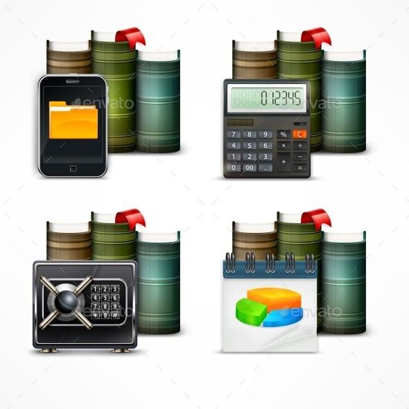 Business Icons - Miscellaneous Vectors