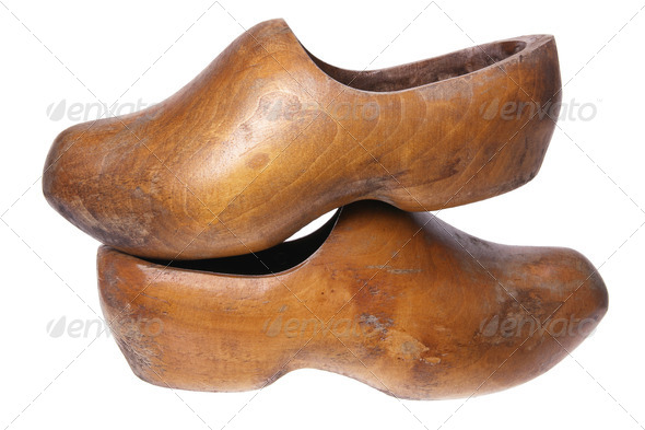 Wooden Dutch Clog - Stock Photo - Images