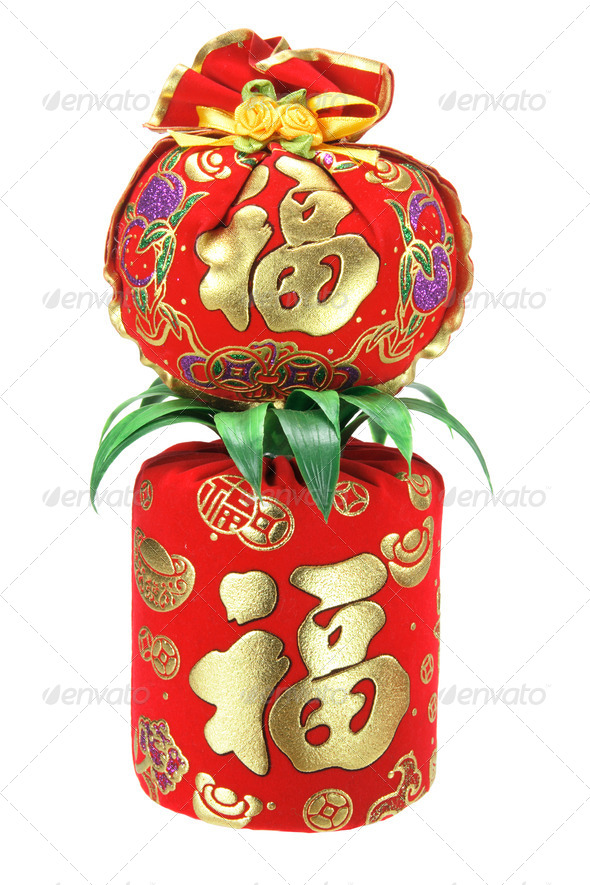 Chinese New Year Ornaments - Stock Photo - Images