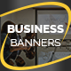 Business Campaign Banners v11 - GraphicRiver Item for Sale