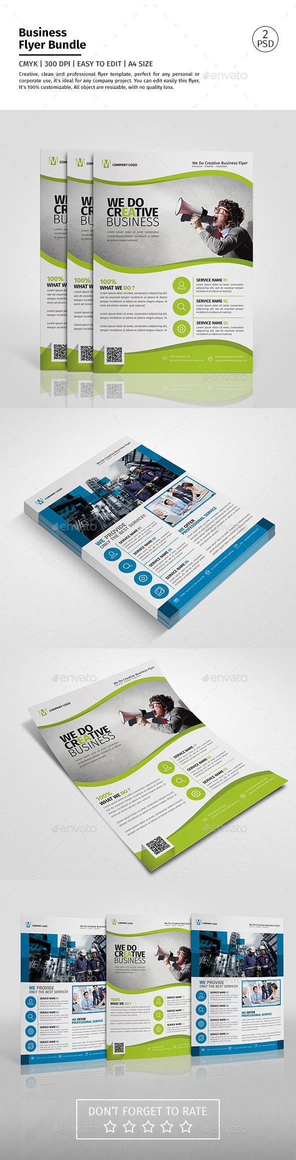 Corporate Flyer Bundle 10 - Corporate Flyers