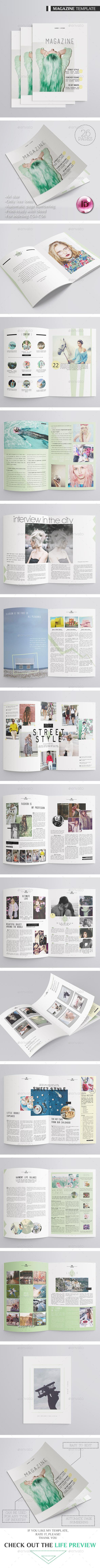 Multipurpose Magazine 26 Pages - Magazines Print Templates