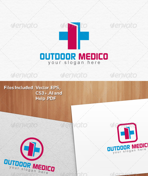 Outdoor Medico Logo Template Design - Symbols Logo Templates