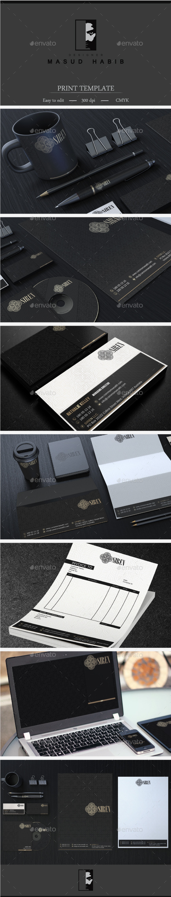 Creative Corporate Identity 30 - Stationery Print Templates