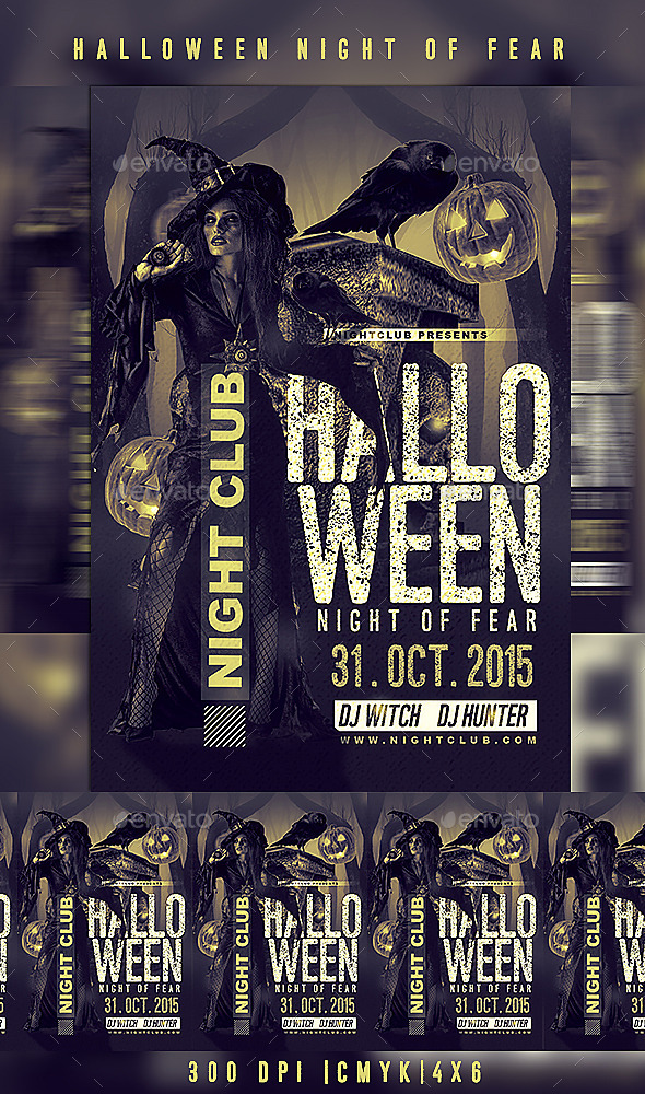 Halloween Night Of Fear - Clubs & Parties Events
