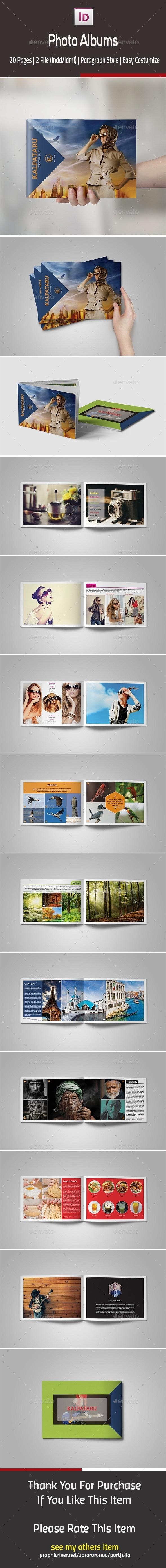 Photo Albums - Photo Albums Print Templates
