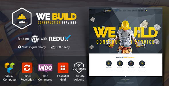 We Build – Construction, Building WP Theme