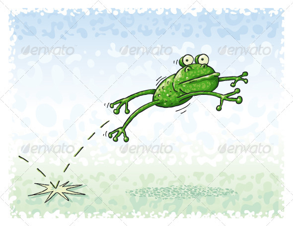 Jumping Frog - Animals Characters