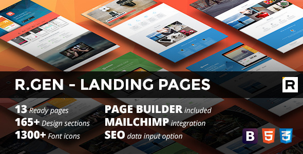 R.Gen – Landing Pages