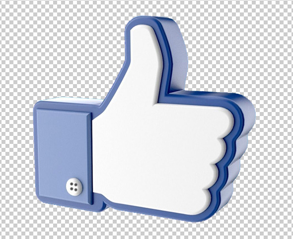 Facebook Like Thumb Up Hand Icon - 3DOcean Item for Sale