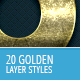 20 Gold Styles - Ultimate Collection - GraphicRiver Item for Sale