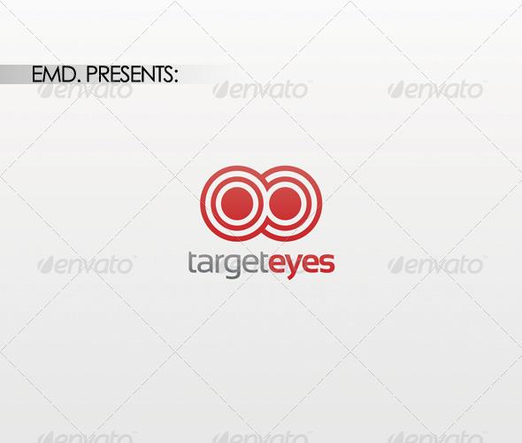 Target Eyes Logo - Symbols Logo Templates