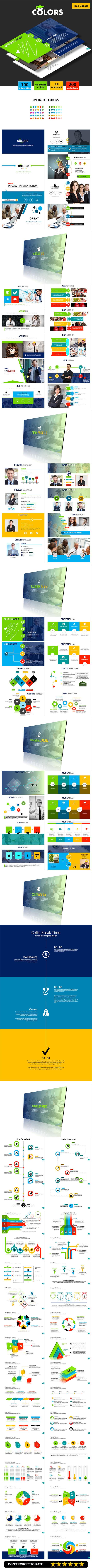 COLORS -  Google Slides Business Presentation - Google Slides Presentation Templates