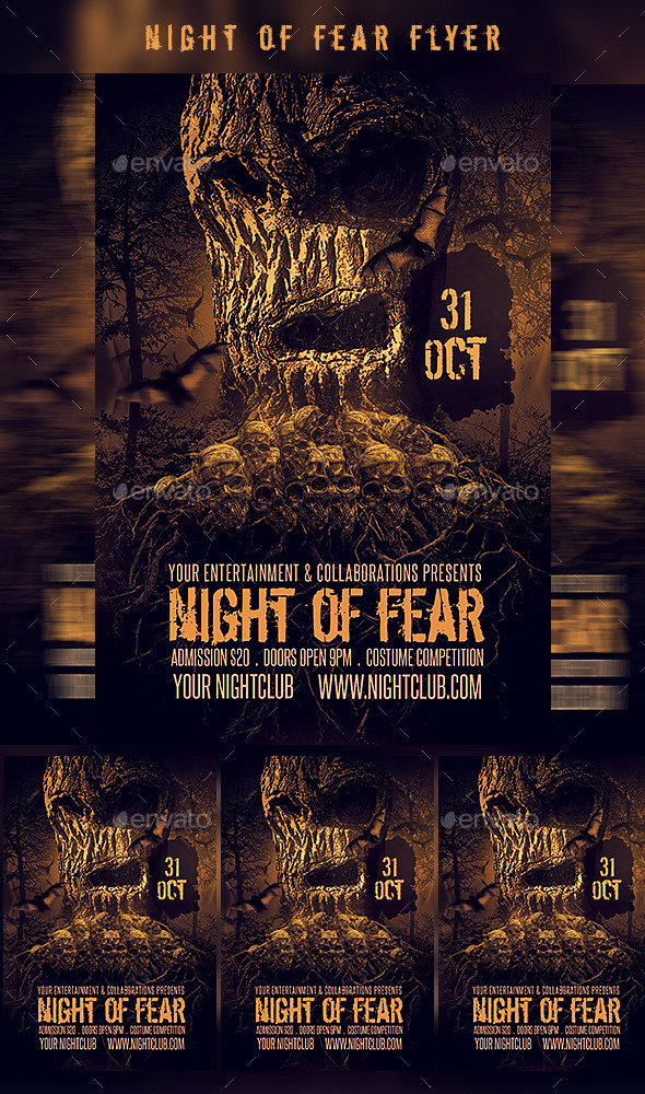 Night Of Fear - Clubs & Parties Events