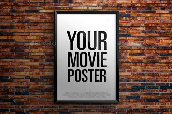 The Theatrical Movie Poster - Mock-up - Posters Print
