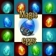 Set of Magic Set Dragon Eggs with Backlight - GraphicRiver Item for Sale