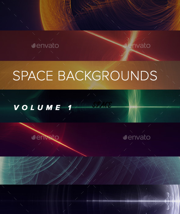 Space Backgrounds VOL 1 - Tech / Futuristic Backgrounds