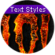Halloween 2 - Text Styles - GraphicRiver Item for Sale