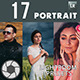 17 Portrait  Professional Lightroom Presets - GraphicRiver Item for Sale