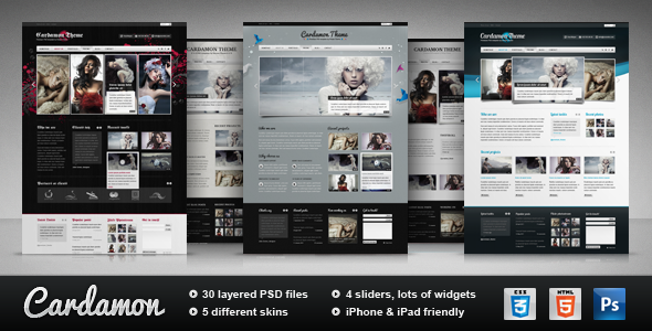 Free Download Cardamon - Multipurpose HTML Template Nulled Latest Version