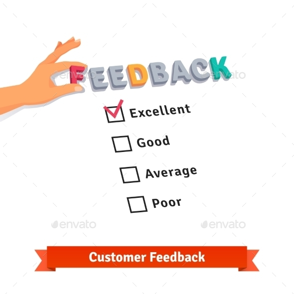 Customer Service Feedback Survey Logo - Concepts Business