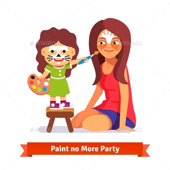 Face Painting Party - People Characters