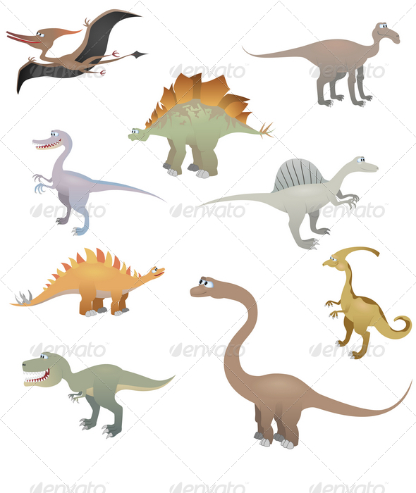 Dinosaur set - Animals Characters
