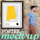 Rustic Wall Gallery Poster Mock-Up - GraphicRiver Item for Sale