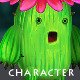 Cactus - Character Sprite - GraphicRiver Item for Sale