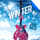 Winter Fest Music Flyer Template